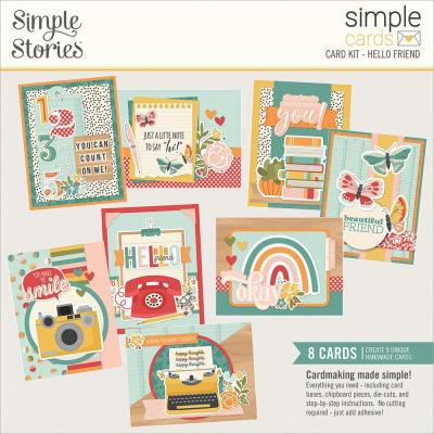 Simple Stories Hello Today Card Kit - Hello Friend