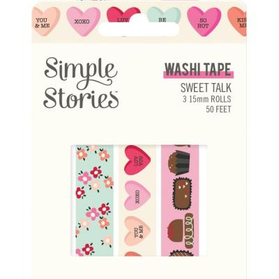Simple Stories Sweet Talk Klebebänder - Washi Tape