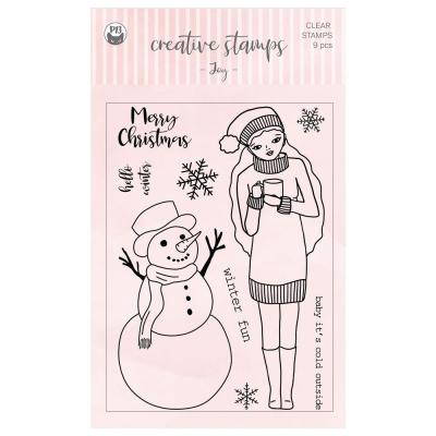 Piatek13 Clear Stamps - Joy