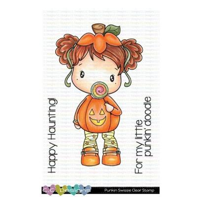 C.C. Designs Clear Stamps - Punkin Swissie