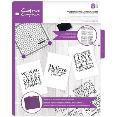 Crafter's Companion Clear Stamps - Believe in the Magic