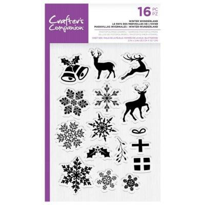 Crafter's Companion Clear Stamps - Winter Wonderland