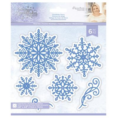 Crafter's Companion Glittering Snowflakes Dies - Snowflake Flurry