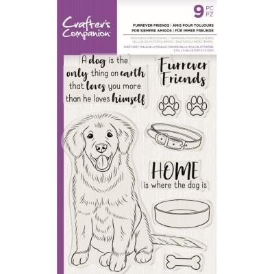 Crafter's Companion Clear Stamps - Furrever Friends