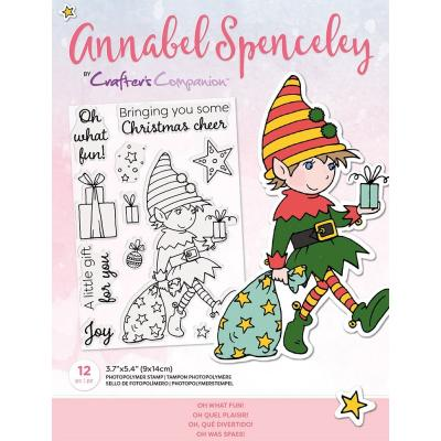 Crafter's Companion Annabel Spenceley Clear Stamps - Oh What Fun!