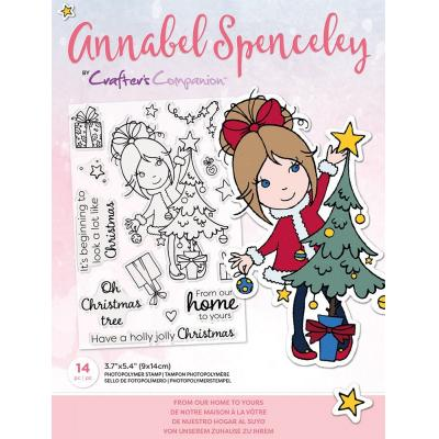 Crafter's Companion Annabel Spenceley Clear Stamps - From Our Home To Yours