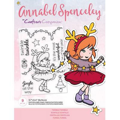 Crafter's Companion Annabel Spenceley Clear Stamps - Twinkle Twinkle
