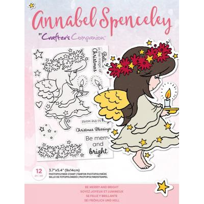 Crafter's Companion Annabel Spenceley Clear Stamps - Be Merry And Bright