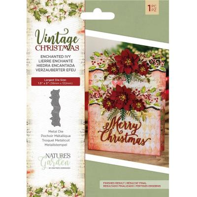 Crafter's Companion Vintage Christmas Die - Enchanted Ivy