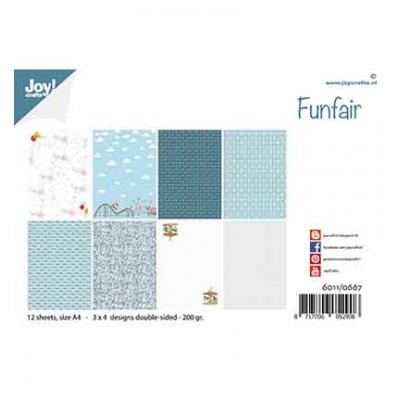Joy!Crafts Designpapier - Design Funfair