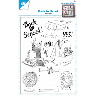 Joy!Crafts Clear Stamps - Back To School