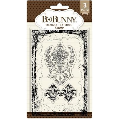 BoBunny Clear Stamps - Damask Texture