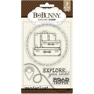 BoBunny Clear Stamps - Explore