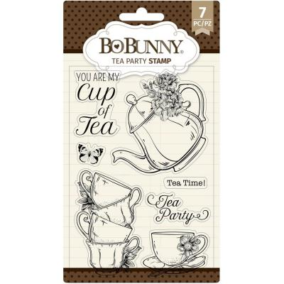 BoBunny Clear Stamps - Tea Party