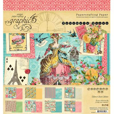 Graphic 45 Ephemera Queen - Paper Pad