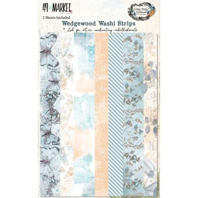 49 And Market Vintage Artistry Wedgewood - Washi Tape