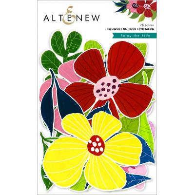 Altenew Enjoy the Ride Die Cuts - Bouquet Builder Ephemera