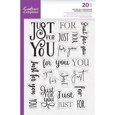 Crafter's Companion Clear Stamps - Just For You