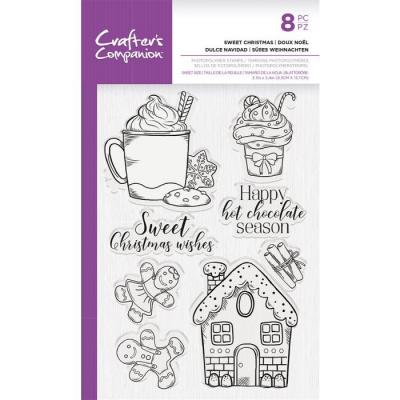 Crafter's Companion Clear Stamps - Sweet Christmas