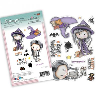 Polkadoodles Clear Stamps - Best Witches