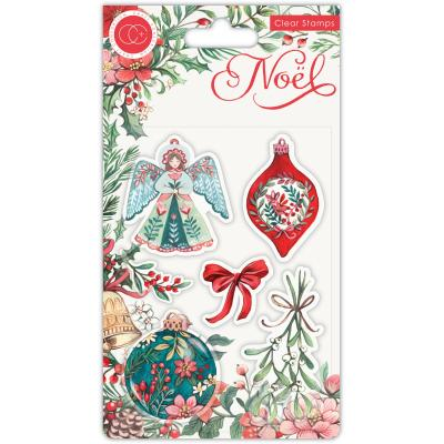 Craft Consortium Noel Clear Stamps - Decorations