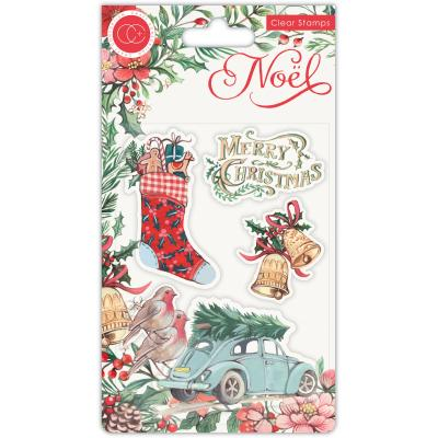 Craft Consortium Noel Clear Stamps - Festivity