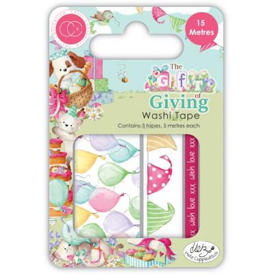 Craft Consortium The Gift of Giving - Washi Tape