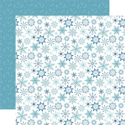 Echo Park Winter Magic Designpapier - Magic Snowflake
