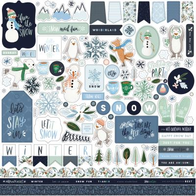 Carta Bella Winter Market - Element Sticker