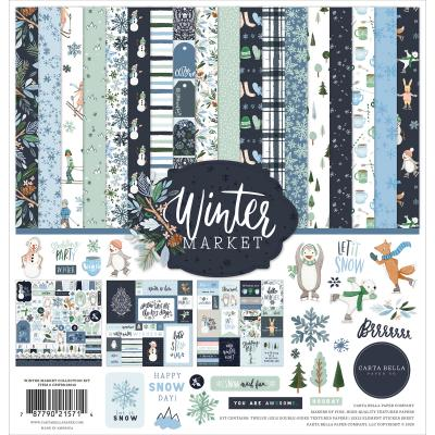 Carta Bella Winter Market Designpapier - Collection Kit