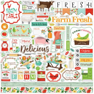 Carta Bella Farm To Table - Element Sticker