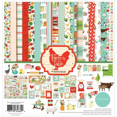 Carta Bella Farm To Table Designpapier - Collektion Kit