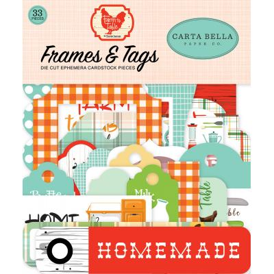 Carta Bella Farm To Table - Frames & Tags