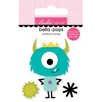Bella BLVD Monster & Friends Sticker - Little Monster
