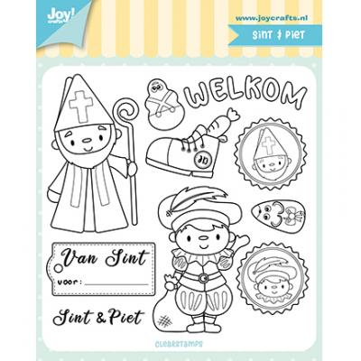 Joy!Crafts Clear Stamps - Sint & Piet