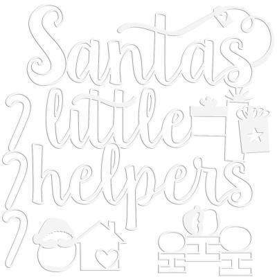 Bella BLVD Santa Squad Cut Outs - Little Helpers