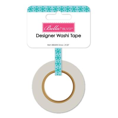 Bella BLVD Santa Squad Washi Tape - Snow