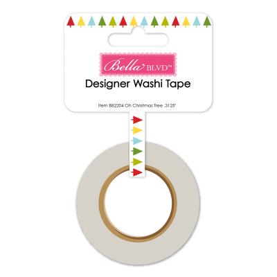 Bella BLVD Santa Squad Washi Tape - Oh Christmas Tree