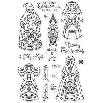 Hero Arts Clear Stamps - Christmas Folks