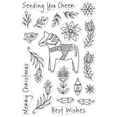 Hero Arts Clear Stamps - Dala Horse
