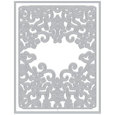Hero Arts Francy Cut Dies - Northern Winter Cover Plate