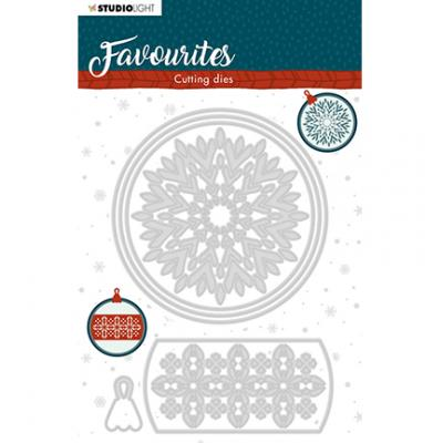 StudioLight Cutting & Embossing Die Winter's Favourites - Nr. 340