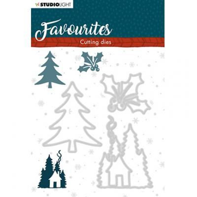 StudioLight Cutting & Embossing Die Winter's Favourites - Nr. 337