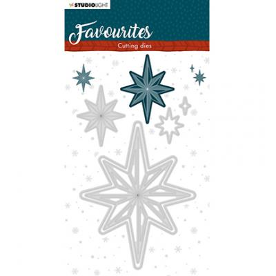 StudioLight Cutting & Embossing Die Winter's Favourites - Nr. 338