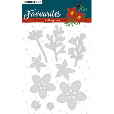 StudioLight Cutting & Embossing Die Winter's Favourites - Nr. 332