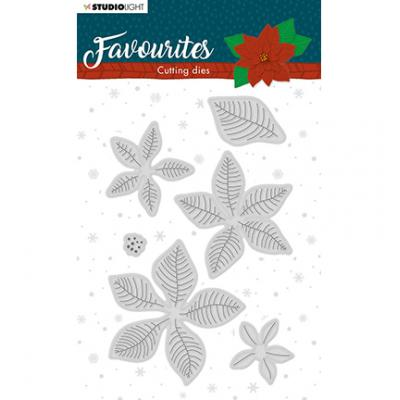 StudioLight Cutting & Embossing Die Winter's Favourites - Nr. 331