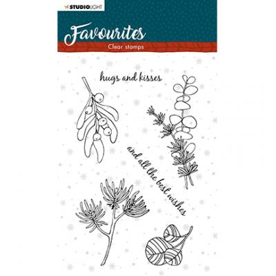 StudioLight Clear Stamps Winter's Favourites - Nr. 504