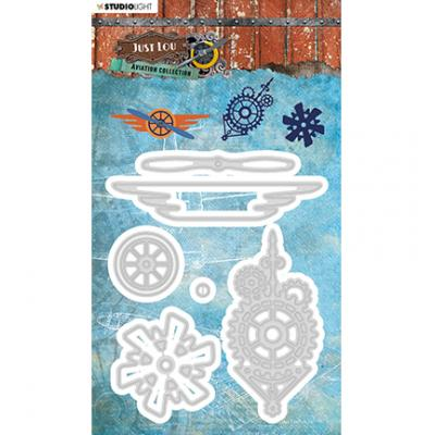 StudioLight Cutting & Embossing Die Aviation Collection - Nr. 15
