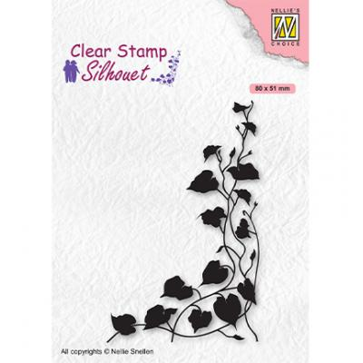 Nellie's Choice Clear Stamp - Silhouettes Ivy