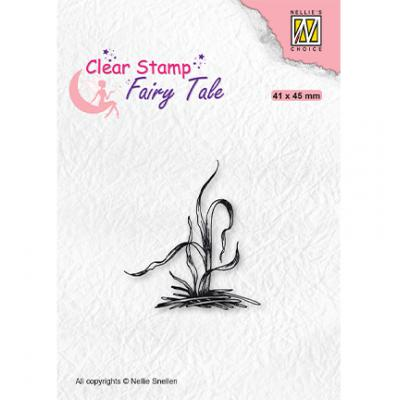 Nellie's Choice Clear Stamp - Fairy Tale Grass